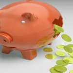 Money Image - Piggy Bank - Stretched